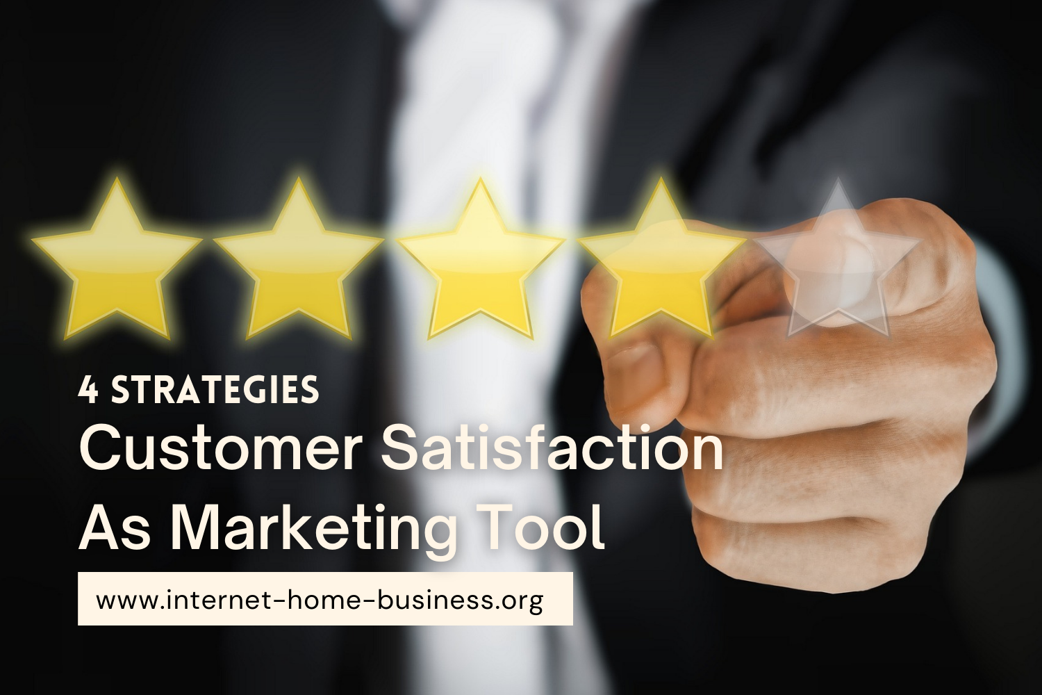A five-star rating that can help you use customer satisfaction as a marketing tool to improve your business.